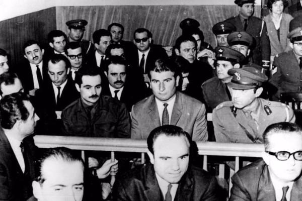 Σαν σήμερα - 03 Νοεμβρίου του 1968: Η δίκη Παναγούλη για την απόπειρα δολοφονίας του δικτάτορα Παπαδόπουλου!