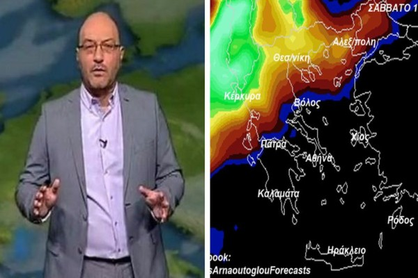 Αυστηρή προειδοποίηση από τον Σάκη Αρναούτογλου: Ραγδαία επιδείνωση του καιρού τις επόμενες ώρες!