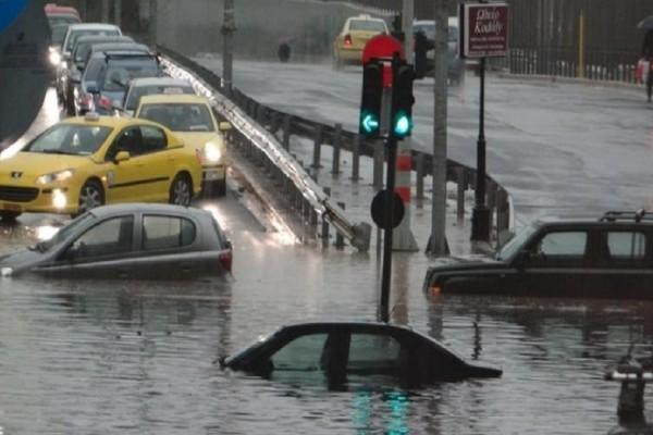 Οδηγοί προσοχή: Διακοπή κυκλοφορίας στην έξοδο 1 της Αττικής οδού και στη λεωφόρο Σαλαμίνας