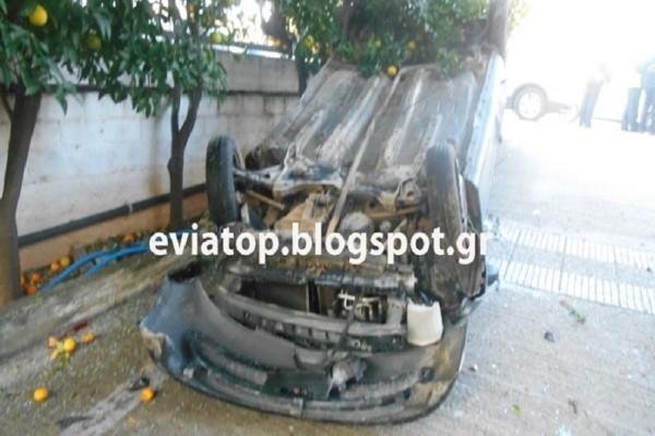 Απίστευτο τροχαίο ατύχημα: Αυτοκίνητο μπούκαρε στην αυλή σπιτιού! (Photo)