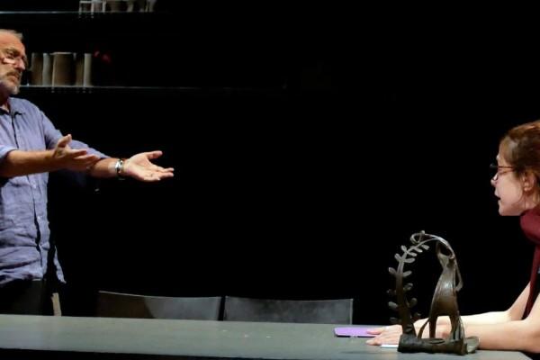 ΟΛΕΑΝΝΑ του Ντέιβιντ Μάμετ στο θέατρο OLVIO!