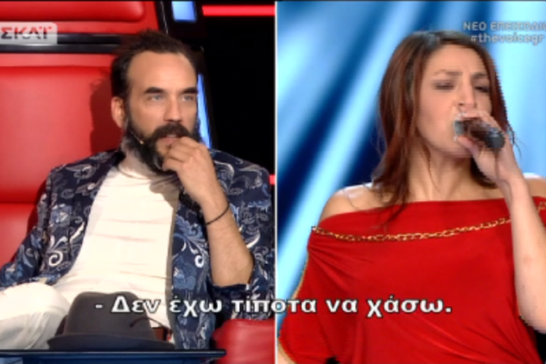 The Voice: Γύρισε μόνο ο Μουζουράκης και η παίκτρια ξενέρωσε! Σε αμηχανία ο τραγουδιστής, της τα έχωσε η Παπαρίζου με το γάντι! (Βίντεο)