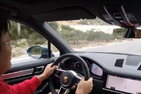 Απίστευτο βίντεο: Η νέα Porsche Cayenne δοκιμάζεται στην… Κρήτη!