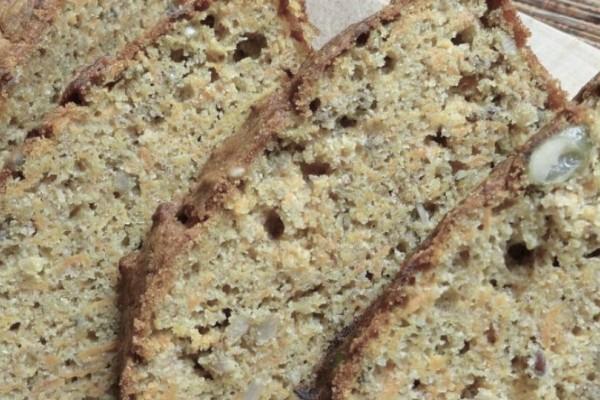 Εύκολο ψωμί χωρίς μαγιά, χωρίς αλεύρι!