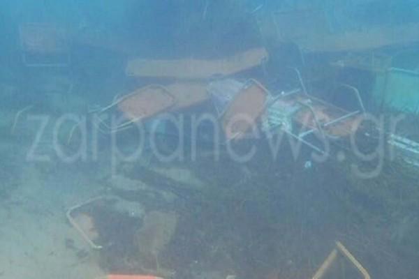 Απίστευτες υποβρύχιες εικόνες: Δείτε την παραλία που μεταφέρθηκε στον... βυθό!