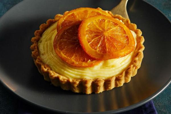 Τάρτα πορτοκάλι με τριφτή ζύμη!