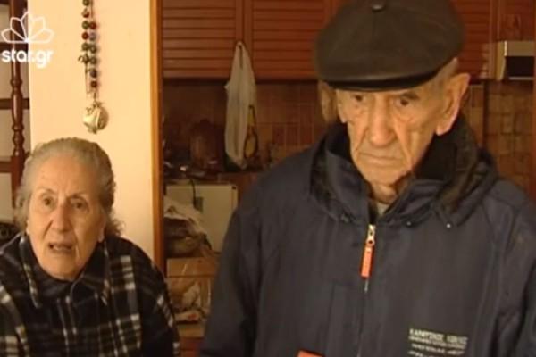 «Έχουμε να φάμε δυο μέρες» - Σπαράζει καρδιές ηλικιωμένο ζευγάρι στη Μάνδρα!
