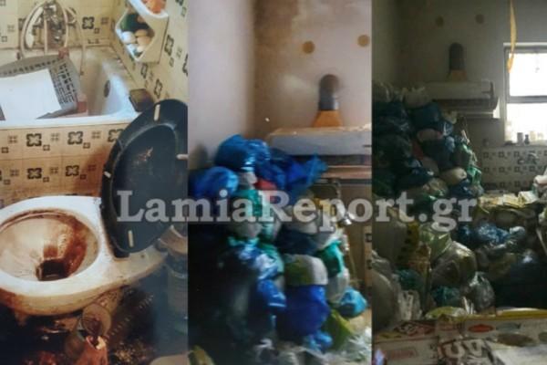 Εικόνες φρίκης από διαμέρισμα ηλικιωμένου στην Λάρισα! Πνιγμένο στα... σκουπίδια (Photos)