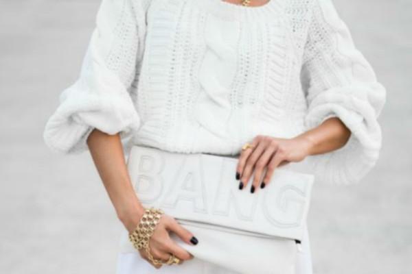 Τρόποι για να φορέσεις το λευκό μέσα στο χειμώνα!