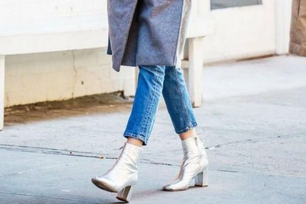 Πως να φορέσεις  τα metallic μποτάκια στην καθημερινότητά σου!
