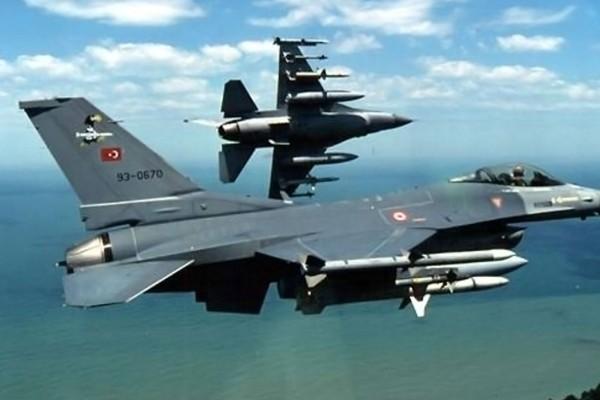 Πάνω από το αιγαίο ξανά τουρκικά μαχητικά!