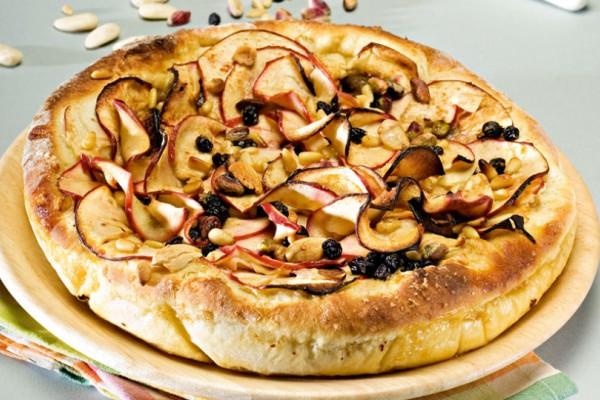 Γλυκιά πίτσα με μήλα!
