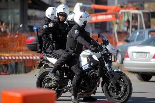 Καραμπόλα με μηχανές της ΔΙΑΣ - Τέσσερις αστυνομικοί τραυματίστηκαν