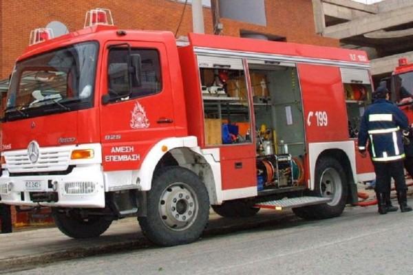 Φωτιά στο νοσοκομείο «Παπαδημητρίου» στα Μελίσσια