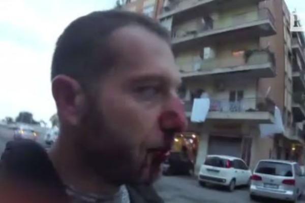 Μαφιόζος ξυλοκόπησε άγρια δημοσιογράφο και οπερατέρ της Rai! (φωτό)