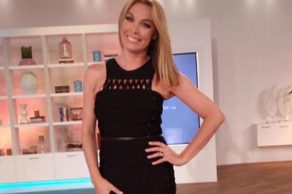 Τατιάνα Στεφανίδου: Η μαύρη ολόσωμη φόρμα που την έκανε να φαίνεται ακόμα πιο ψηλή! Που θα την βρεις;