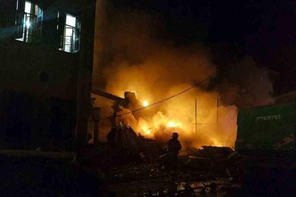 Απίστευτη τραγωδία: Τέσσερις νεκροί από την έκρηξη στο εμπορικό κέντρο στο Τελ Αβίβ