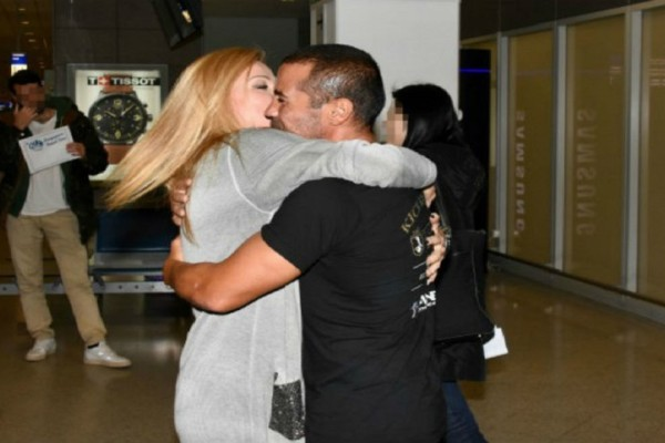 Nomads: Τα ρουφηχτά φιλιά και οι αγκαλιές του Μιχάλη Ζαμπίδη με την σύντροφο του στο αεροδρόμιο μετά την αποχώρησή του από το παιχνίδι! (Photo)