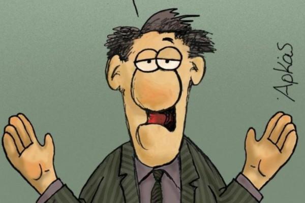 Συγκλονίζει: Το συγκινητικό σκίτσο του Αρκά για τον Νοέμβριο, που έφυγε πενθώντας για τα 22 θύματα στην Μάνδρα! (photo)