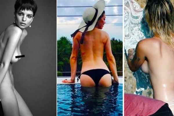 Οι πιο hot σταρ πόζαραν γυμνές και αποχαιρέτησαν το 2017!