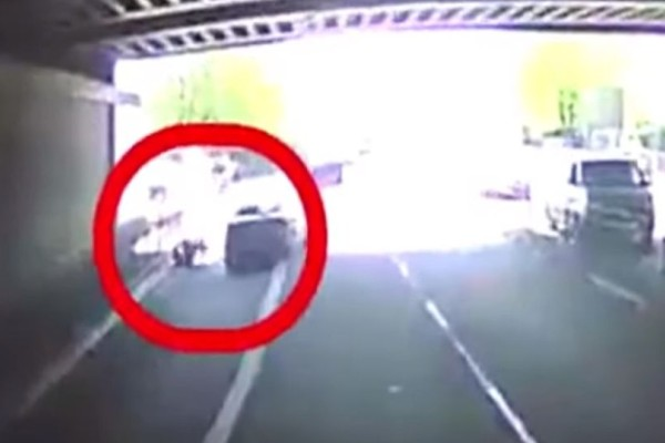 Βίντεο - σοκ: Οδηγός προσπάθησε να σκοτώσει ποδηλάτη!
