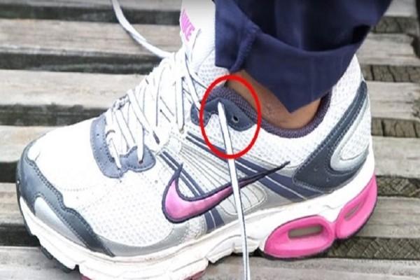 Γιατί υπάρχει μια επιπλέον τρύπα στα αθλητικά παπούτσια; - Εσείς το γνωρίζετε; (Video)