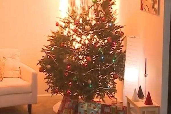 Τρομακτικό βίντεο: Πώς ένα χριστουγεννιάτικο δέντρο γίνεται παρανάλωμα του πυρός μέσα σε λίγα δευτερόλεπτα!