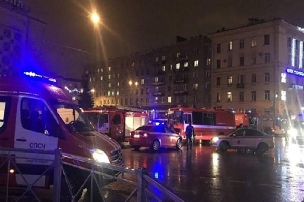 Βίντεο ντοκουμέντο από από το σημείο της έκρηξης στην Αγία Πετρούπολη