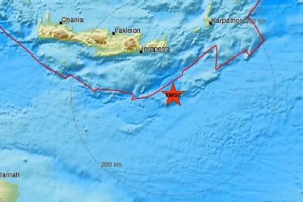 Κρήτη: Σεισμός 4,4 Ρίχτερ στην Ιεράπετρα!