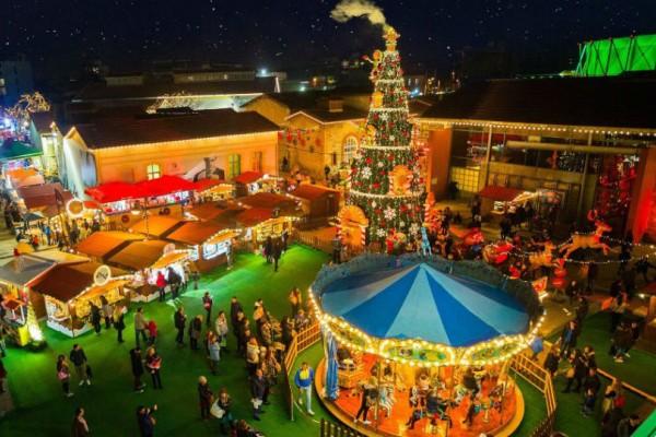 Τα 4 ωραιότερα Χριστουγεννιάτικα πάρκα της Αθήνας!