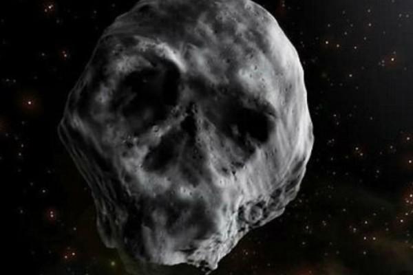 Ο αστεροειδής... «νεκροκεφαλή» επιστρέφει και περνά «ξυστά» απο τη Γη!