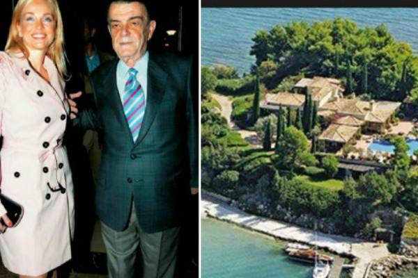 Ένα παλάτι για τους κληρονόμους του Μίνωα Κυριακού! Η χλιδάτη βίλα που άφησε πίσω του (Photos)