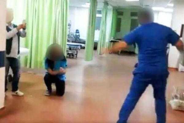 Ασύλληπτο: Εργαζόμενοι μεγάλου νοσοκομείου της χώρας χορεύουν στο τμήνα επειγόντων δίπλα σε ετοιμοθάνατους ανθρώπους! (photos)
