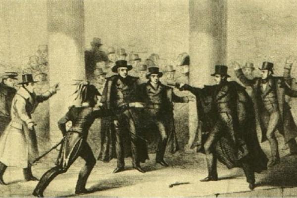 Σαν σήμερα στις 30 Ιανουαρίου το 1835 έγινε η πρώτη απόπειρα δολοφονίας κατά Αμερικανού Προέδρου, Άντριου Τζάκσον