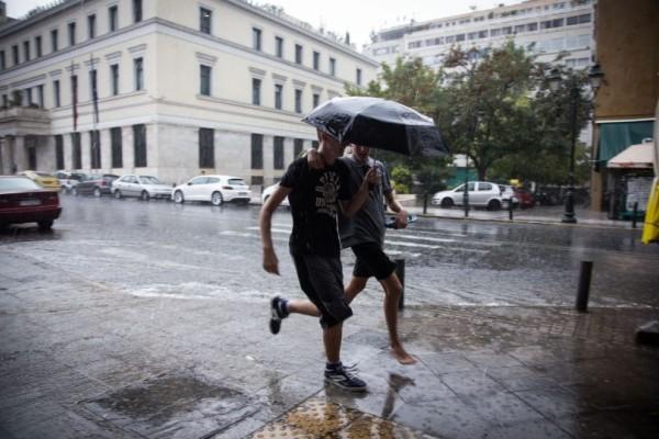 Έκτακτο δελτίο επιδείνωσης καιρού: Ισχυρές καταιγίδες τις επόμενες ώρες!
