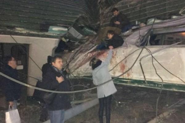 Δυο νεκροί και αρκετοί τραυματίες από τον εκτροχιασμό αμαξοστοιχίας στην Ιταλία (video)