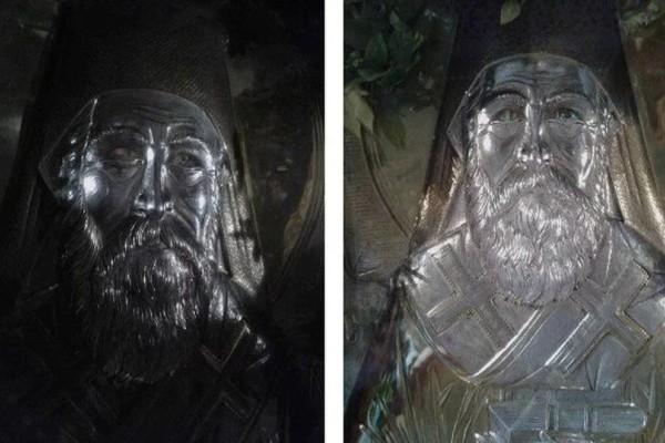 Ανατριχιαστικό: Ο Άγιος Νεκτάριος άνοιξε τα μάτια του! (photos)