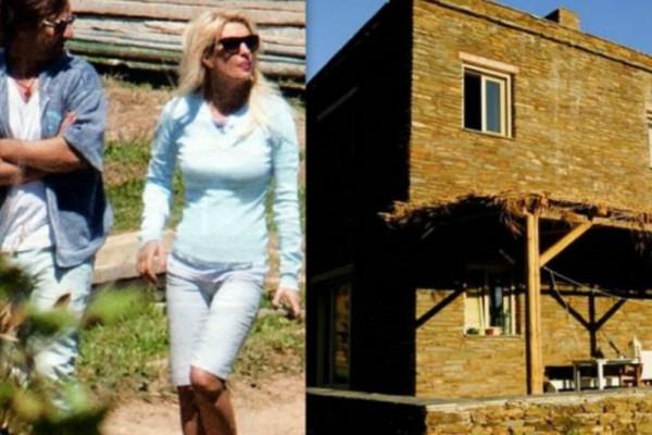 Ελένη Μενεγάκη - Μάκης Παντζόπουλος: Το ανακαινισμένο σπίτι στα Άχλα! Φωτογραφίες από το εσωτερικό του