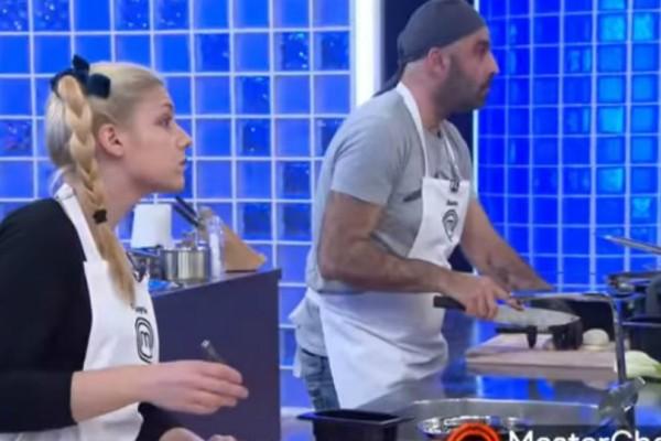 Χαμός σήμερα στο Master Chef: Η απογοήτευση, το φαγητό που δεν τρώγεται και ο τραυματισμός παίκτη!  (video)