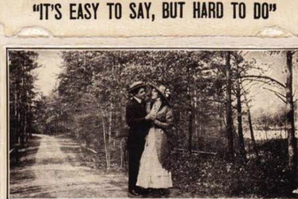 Πριν το Facebook και το snapchat πως ζητούσαν οι άντρες στην αγαπημένη τους να κάνουν έρωτα έναν αιώνα πριν;
