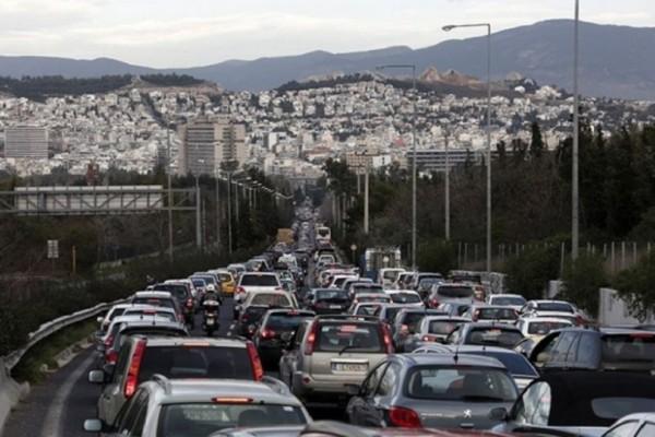Κυκλοφοριακό κομφούζιο στην Αθήνα λόγω απεργίας! Ποιοι δρόμοι είναι απροσπέλαστοι;