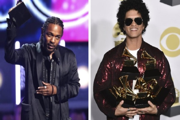 Grammys 2018: Σάρωσαν τα βραβεία Bruno Μars και Kendrick Lamar! - Όλο το παρασκήνιο από την λαμπερή βραδιά!