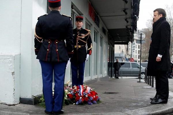 Η Γαλλία τιμά τα 17 θύματα του Charlie Hebdo 3 χρόνια μετά την τρομοκρατική επίθεση