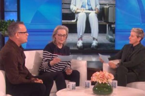 Μέριλ Στριπ και Τομ Χανκς μιμήθηκαν ο ένας τον άλλον και ήταν απολαυστικοί! (βίντεο)