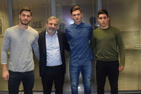 Υπέγραψε επαγγελματικό συμβόλαιο με τον Ολυμπιακό o γιος του Αντώνη Νικοπολίδη!