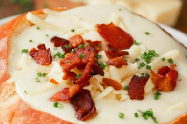 Φτιάξε την πιο νόστιμη σούπα με cheddar και μπύρα (video)