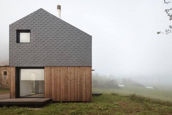 Μια σύγχρονη μινιμαλιστική κατοικία: Το σπίτι που συναρμολογήθηκε μέσα σε 5 ώρες! (Photo)