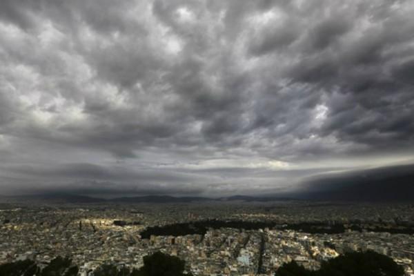 Καιρός: Συννεφιά και βροχές σε ολόκληρη την χώρα!