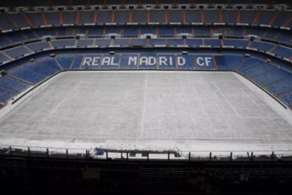 Ισχυρή χιονόπτωση στην Μαδρίτη: Στα