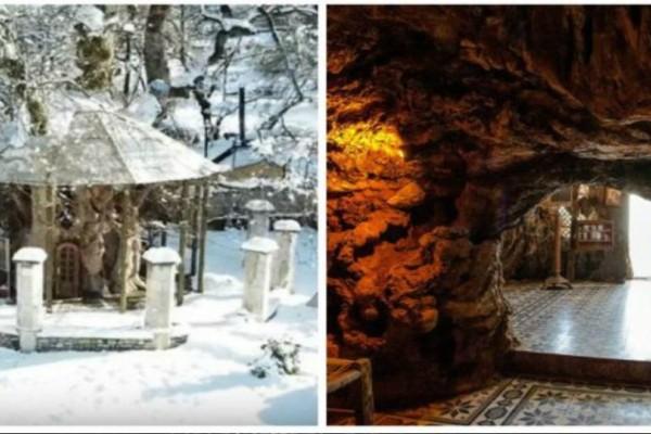 Παναγία Πλατανιώτισσα: Το εκκλησάκι που είναι φτιαγμένο μέσα στην κουφάλα ενός πλατάνου 1000 ετών!